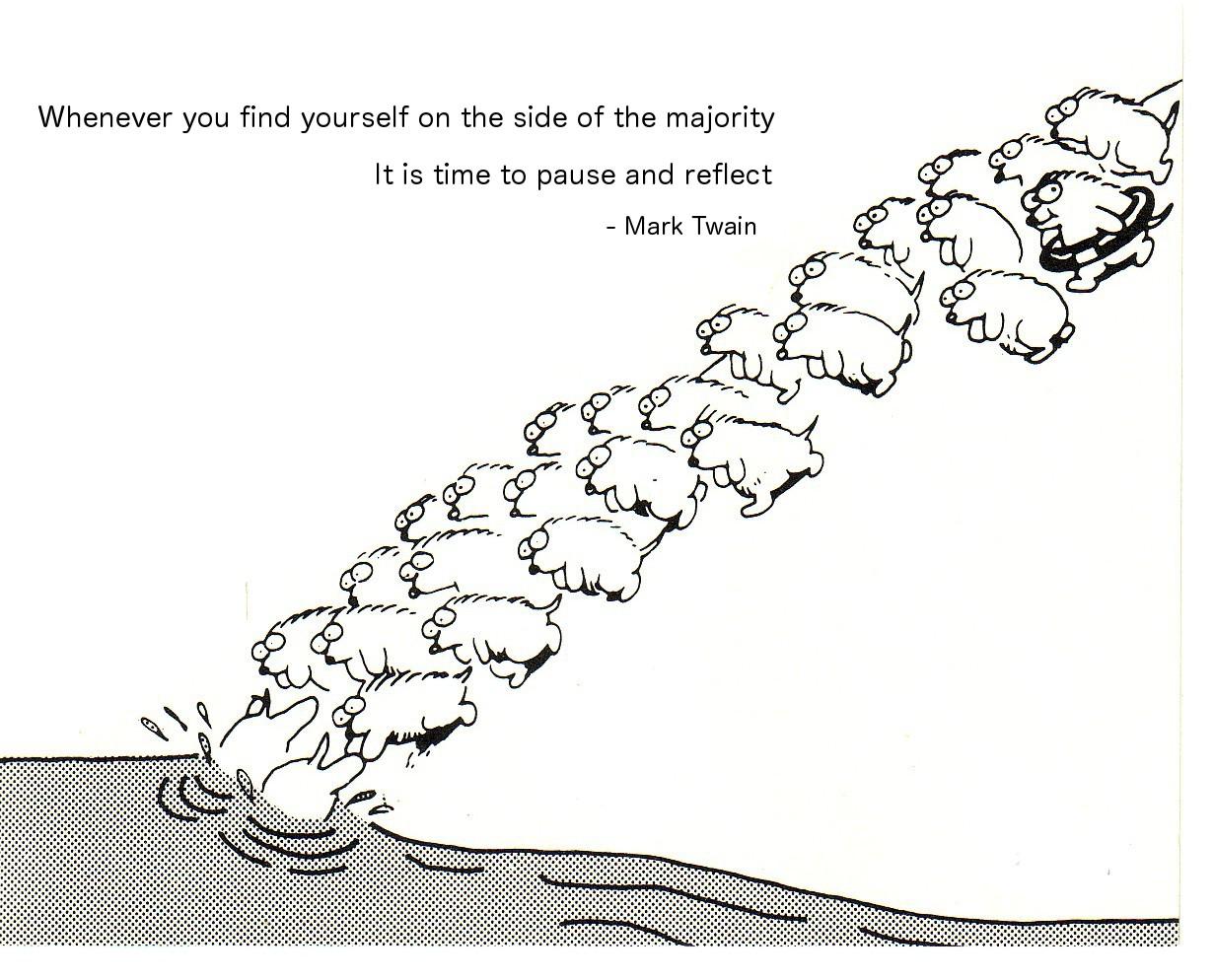 Majority quote #5