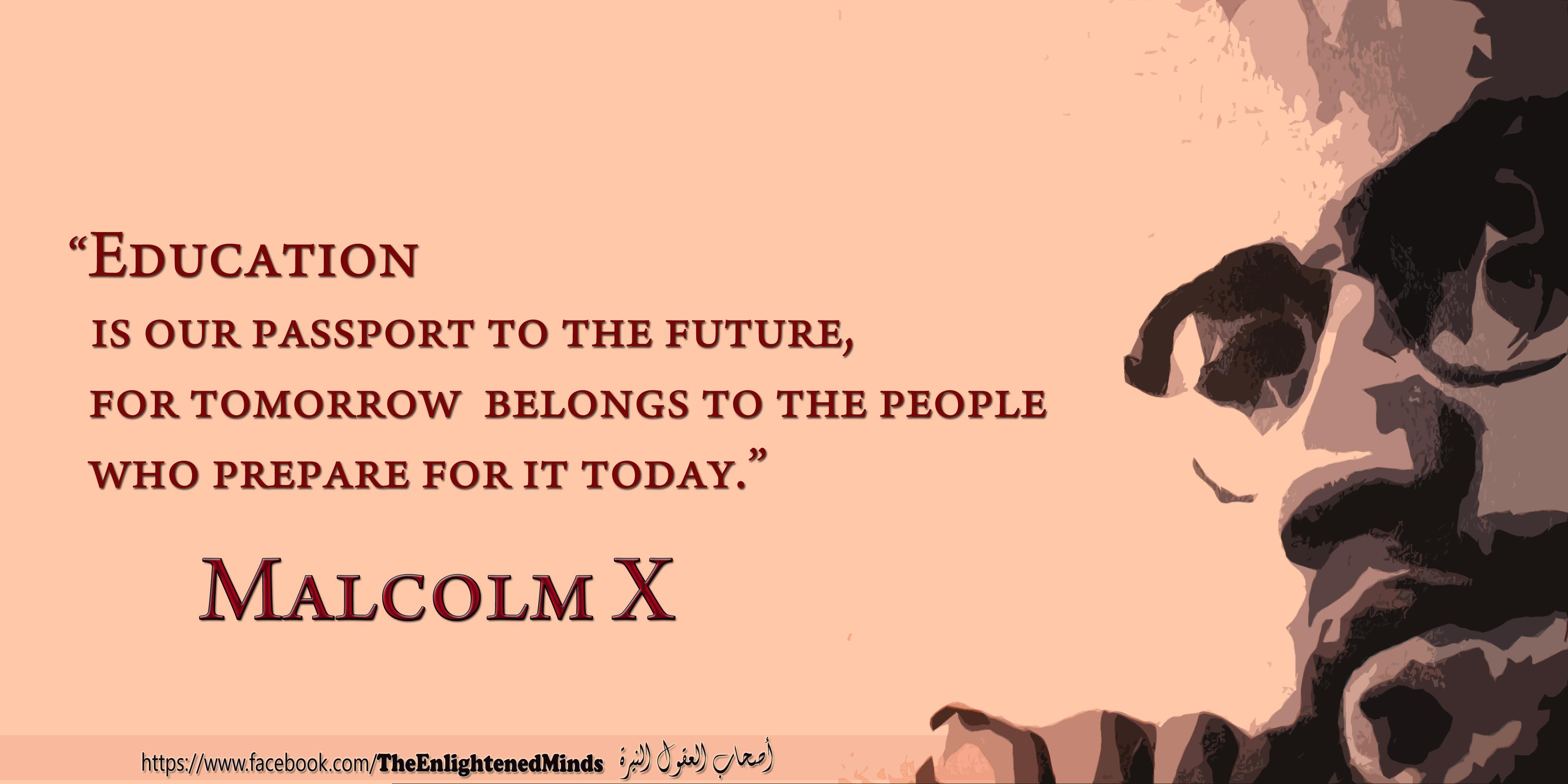 Malcolm X quote #1