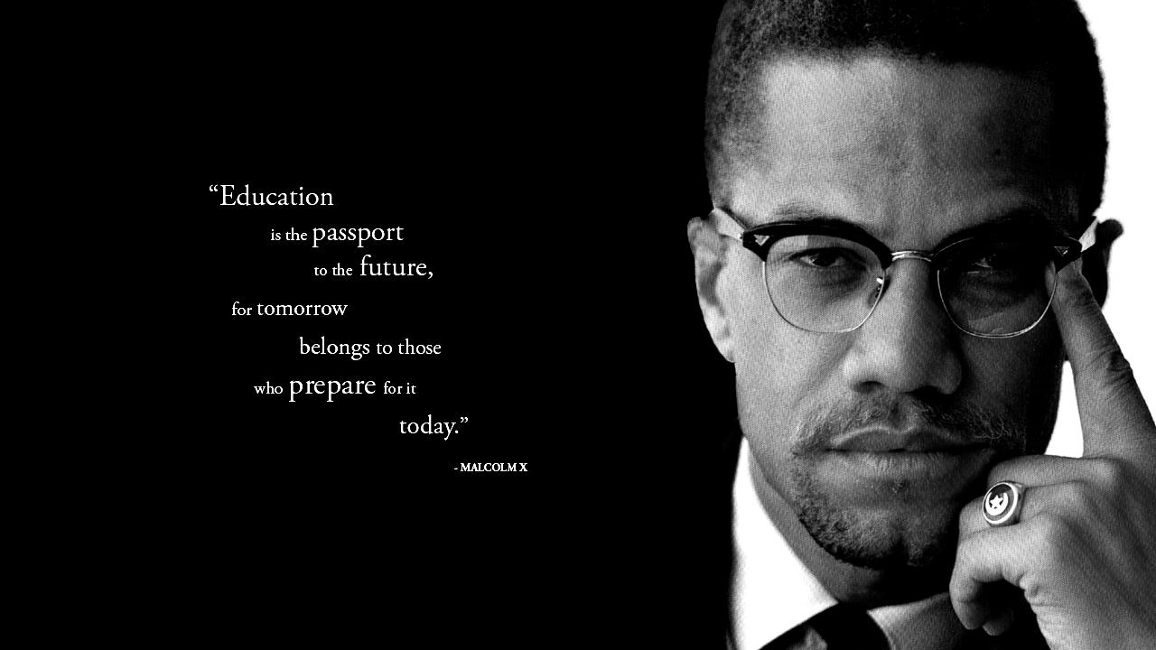 Malcolm X quote #2