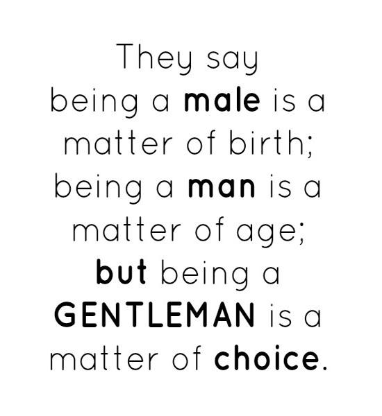 Male quote #1