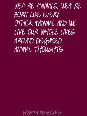 Mammal quote #1