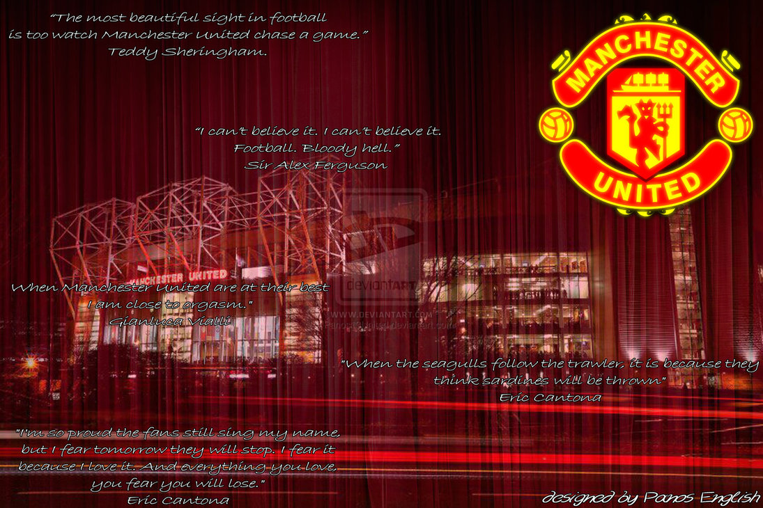 Manchester United Image Quotation 6 Sualci Quotes
