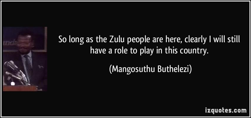 Mangosuthu Buthelezi's quote #5