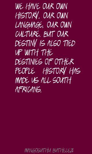 Mangosuthu Buthelezi's quote #6