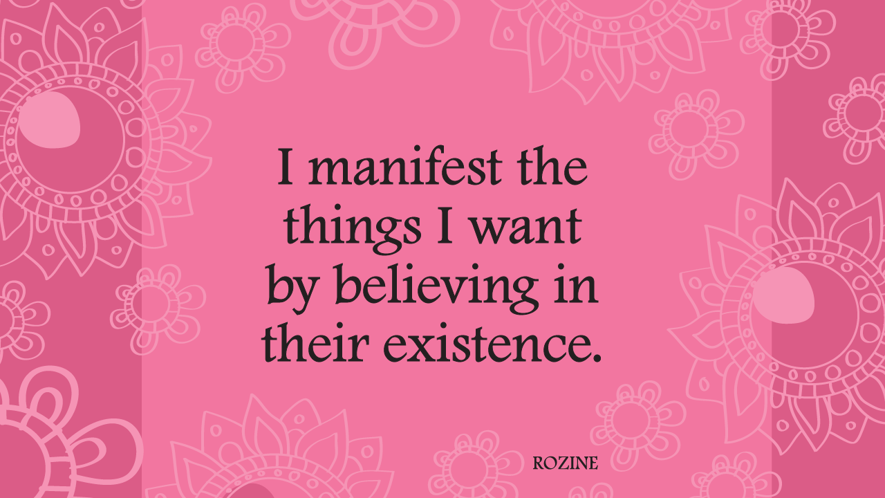 Manifesting quote #1
