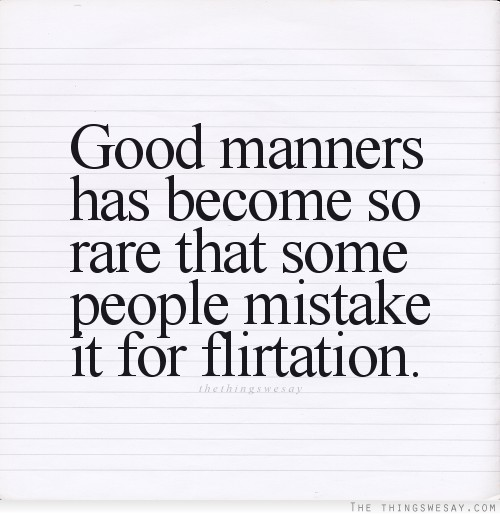 Manner quote #6