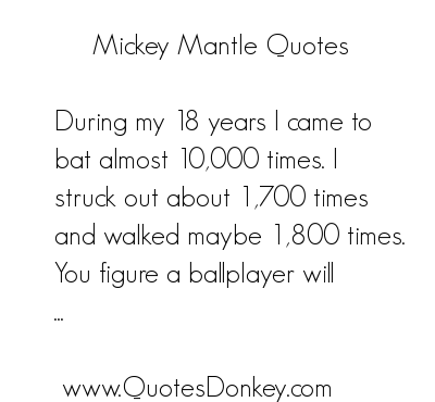Mantle quote #1