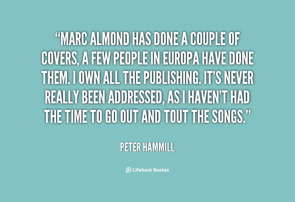 Marc Almond's quote #7