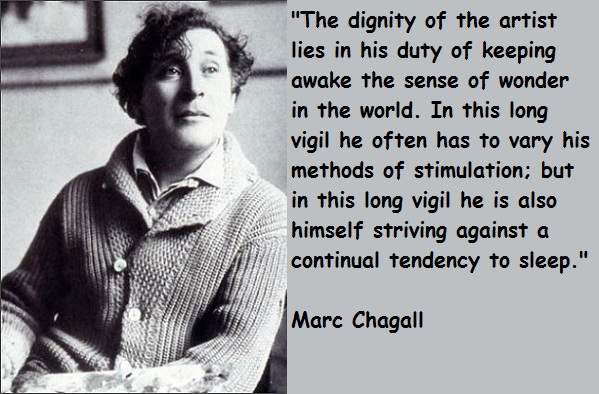 Marc Chagall's quote #1