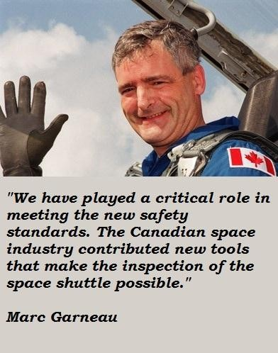 Marc Garneau's quote #7