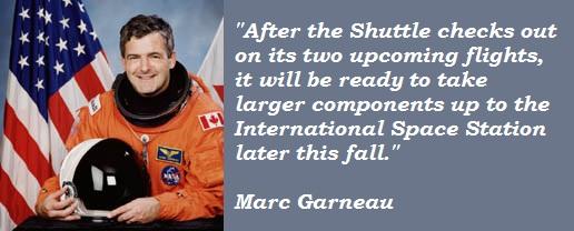 Marc Garneau's quote #2