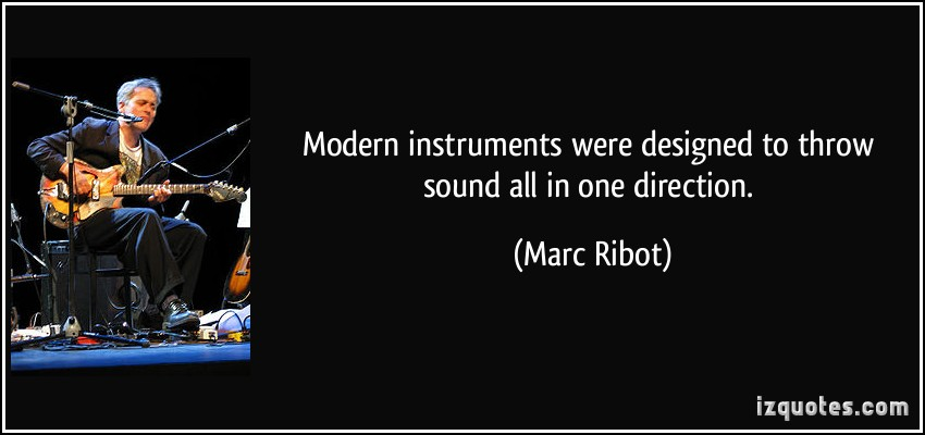 Marc Ribot's quote #1