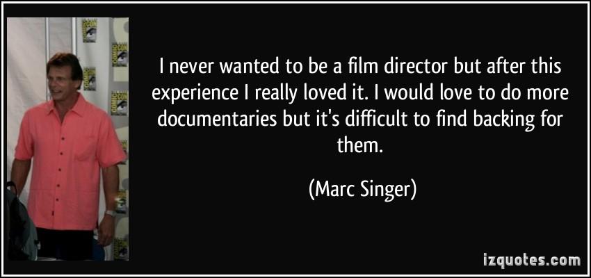 Marc Singer's quote #1