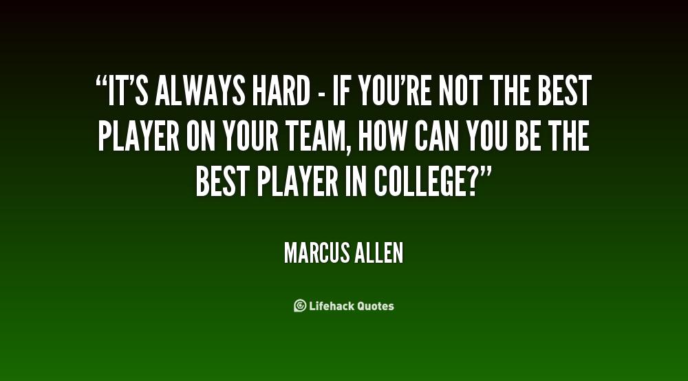 Marcus Allen's quote #5