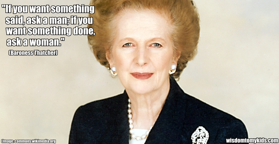 Margaret Thatcher quote #2