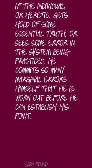 Marginal quote