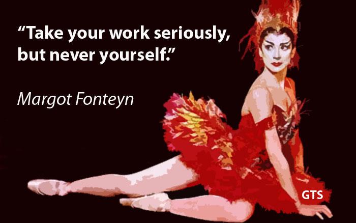 Margot Fonteyn's quote #1