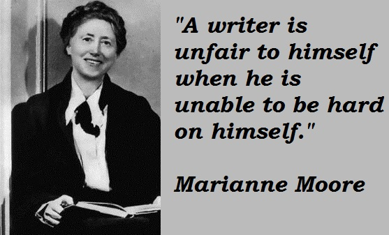 Marianne Moore's quote #3