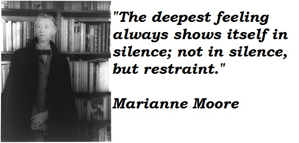 Marianne Moore's quote #1