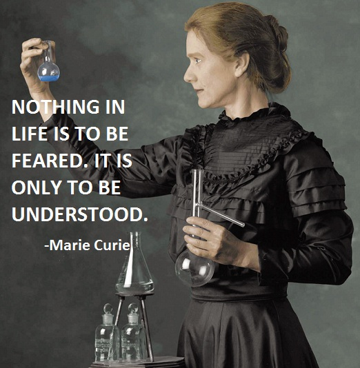 Marie Curie's quote #5