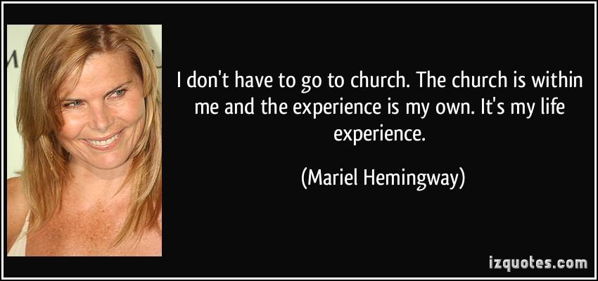 Mariel Hemingway's quote #4