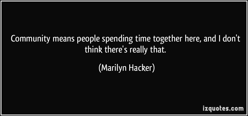 Marilyn Hacker's quote #3