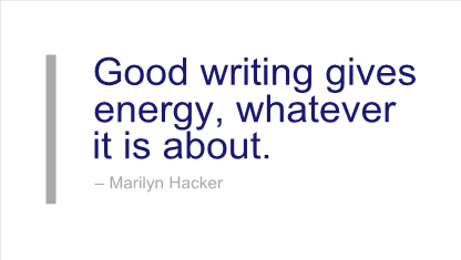 Marilyn Hacker's quote #6