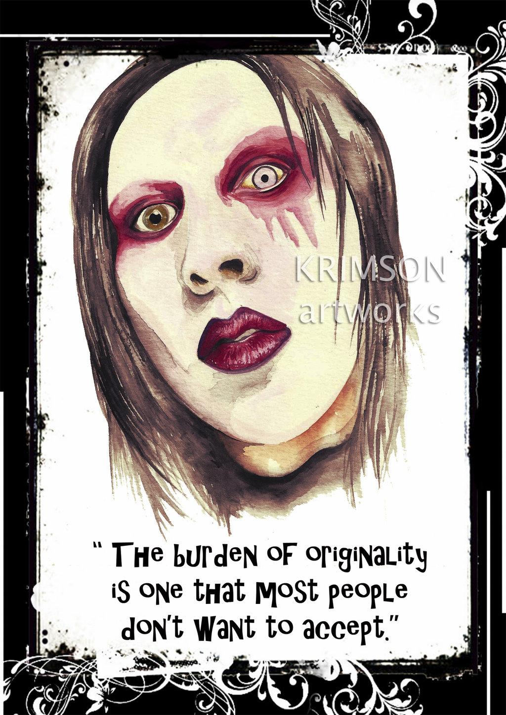 Marilyn Manson quote #1