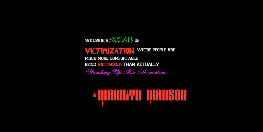 Marilyn Manson quote #2