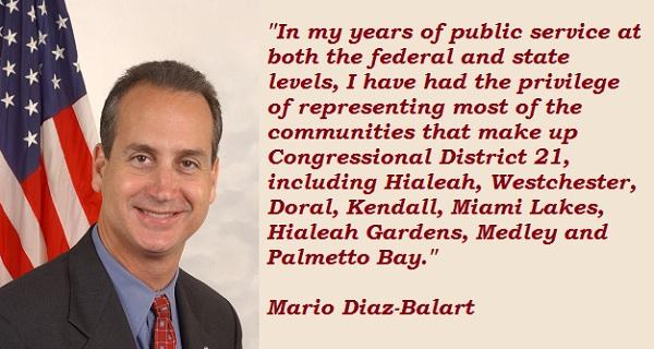 Mario Diaz-Balart's quote #2