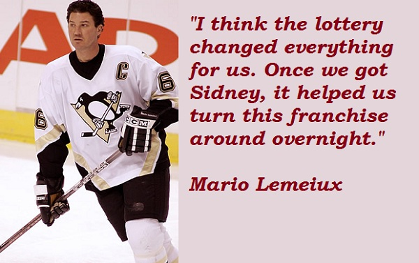 Mario Lemeiux's quote #7