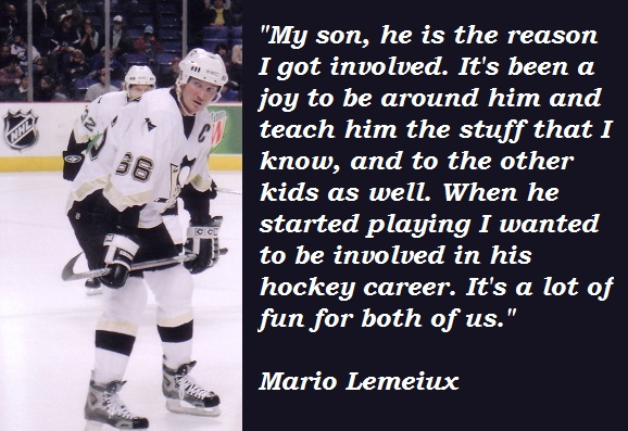 Mario Lemeiux's quote #2