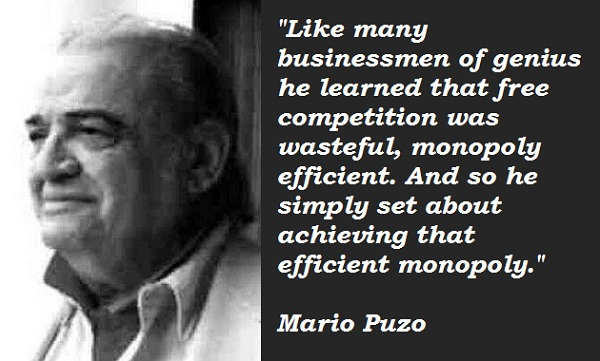 Mario Puzo's quote #1