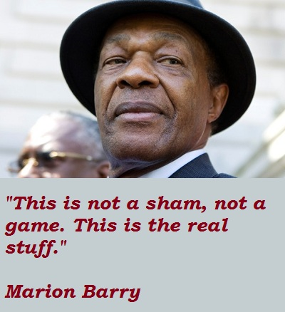 Marion Barry's quote #2
