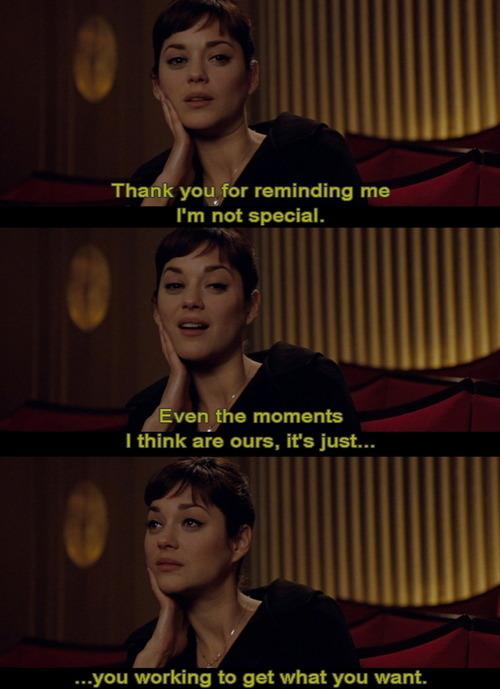 Marion Cotillard's quote