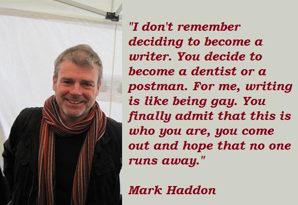 Mark Haddon's quote #8