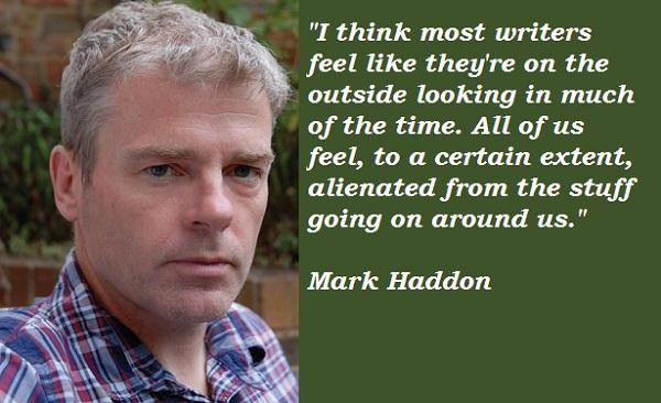 Mark Haddon's quote #4