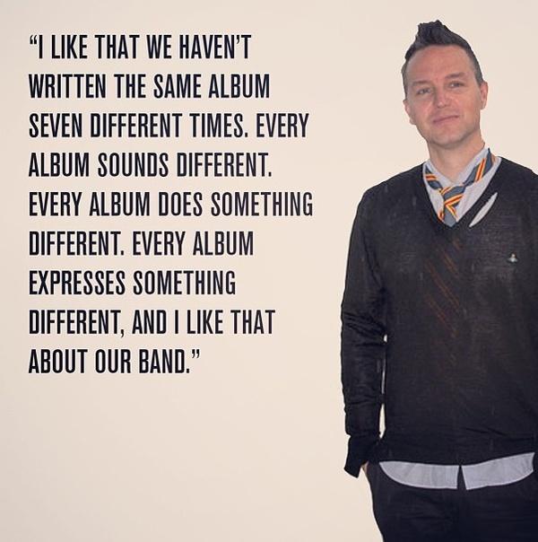 Mark Hoppus's quote #7