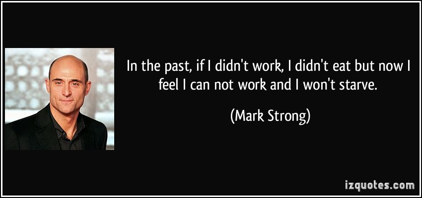 Mark Strong's quote #1