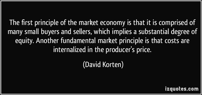 Market Economy quote #1