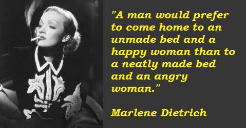 Marlene Dietrich's quote #5