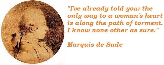 Marquis de Sade's quote #6