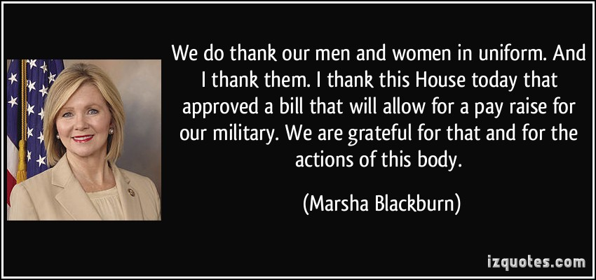 Marsha Blackburn's quote #5