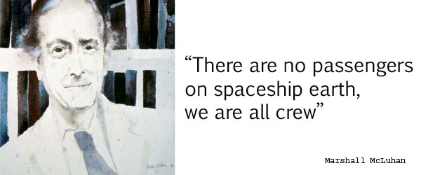 Marshall McLuhan's quote #5