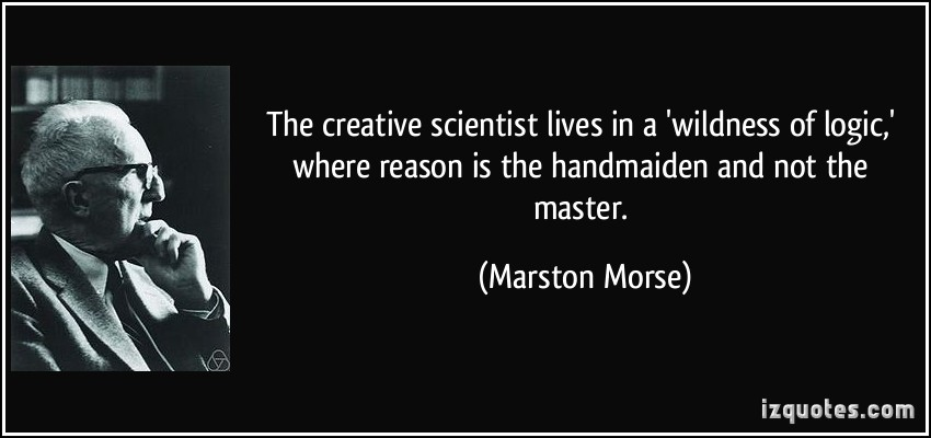 Marston Morse's quote #1