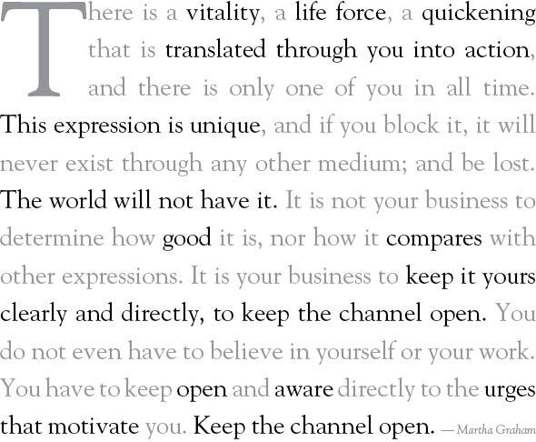 Martha Graham's quote #8