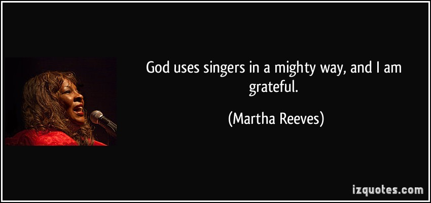 Martha Reeves's quote #1