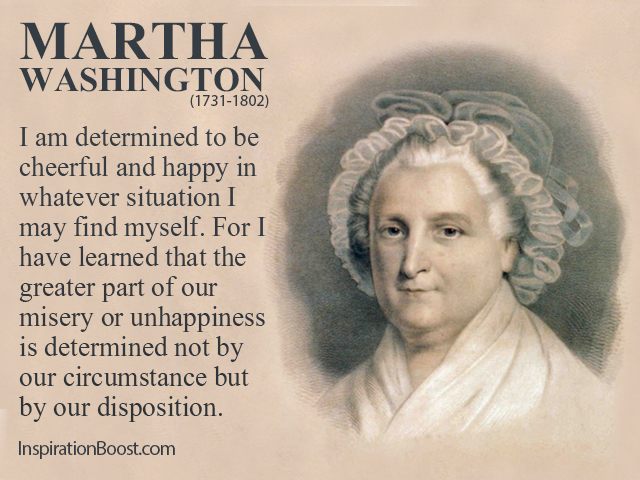 Martha Washington's quote #1