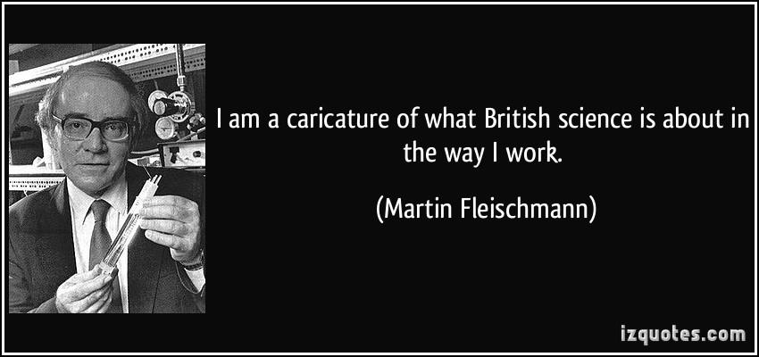 Martin Fleischmann's quote #3