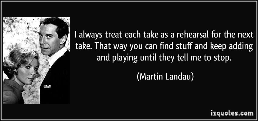 Martin Landau's quote #8